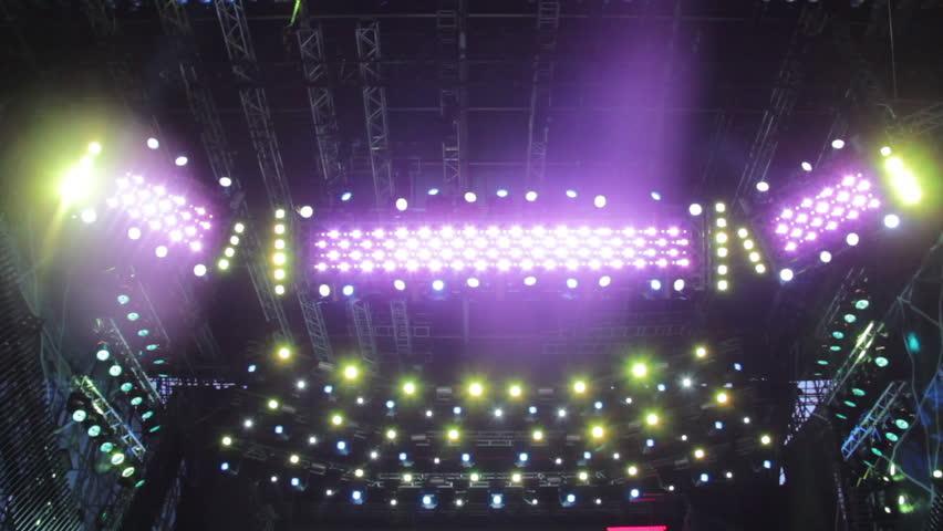 Disco Mirror Ball Lights. Stock Footage Video 2865814