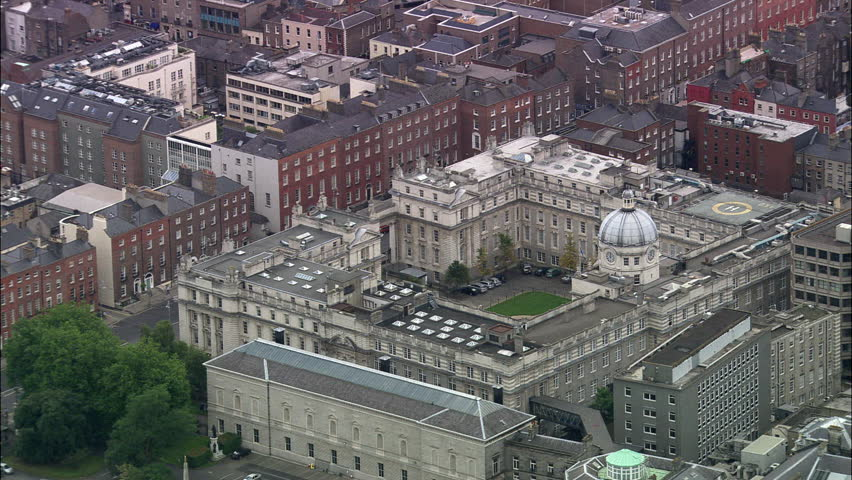 Dublin Collage And Parliment Buildings   Shutterstock HD Video #23701336