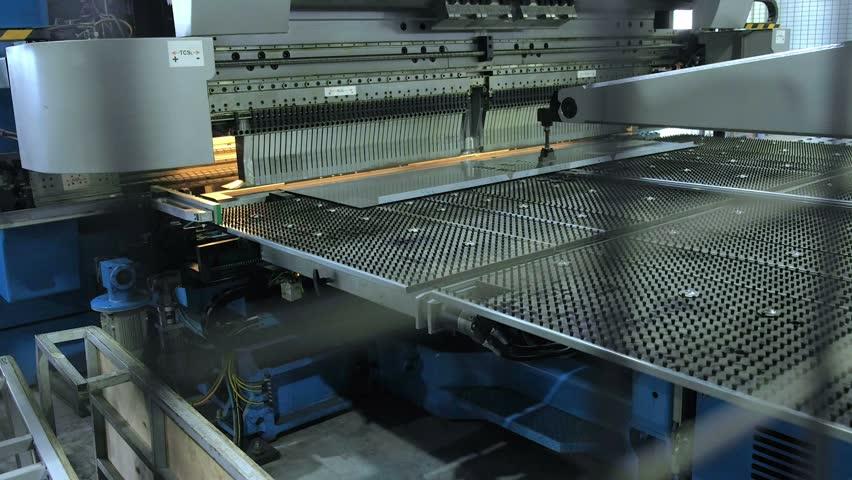 Industrial metal press | Shutterstock HD Video #23776006
