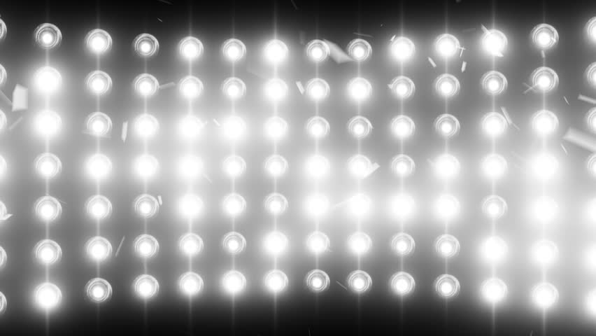 Circle Led Lights With Different Versions Of The Glow On