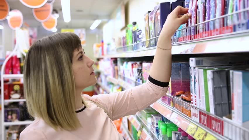 Buyer in the supermarket | Shutterstock HD Video #23892007