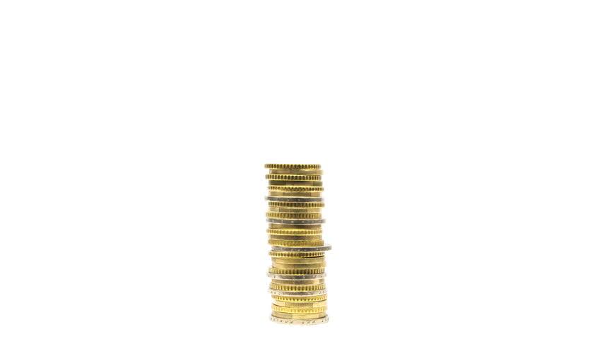 Raising coins piles