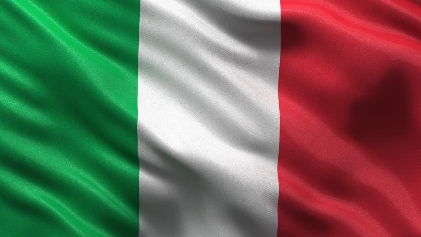 Italian Flag Stock Footage Video | Shutterstock