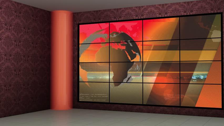 News Tv Studio Set 256- Stock Footage Video (100% Royalty-free) 24044686 |  Shutterstock