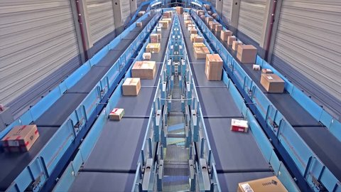 Parcels on conveyors - long version
