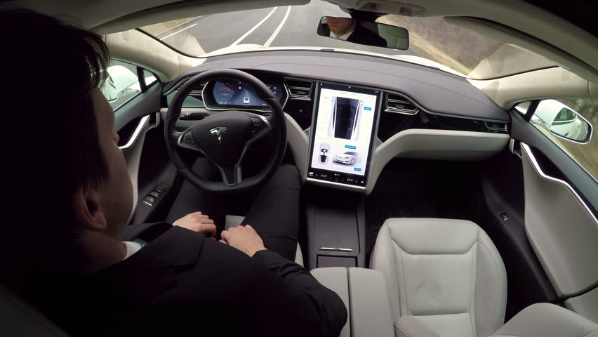 Autonomous Tesla Car, February 2016: Stock Footage Video (100%  Royalty-free) 24508466 | Shutterstock