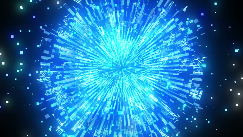 Brilliant Light Effects Background Elegant Hd Light: Brilliant Blue For Background. Explosion Star, Energy