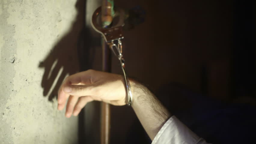 Being handcuffed to a pipe. Kidnapped.