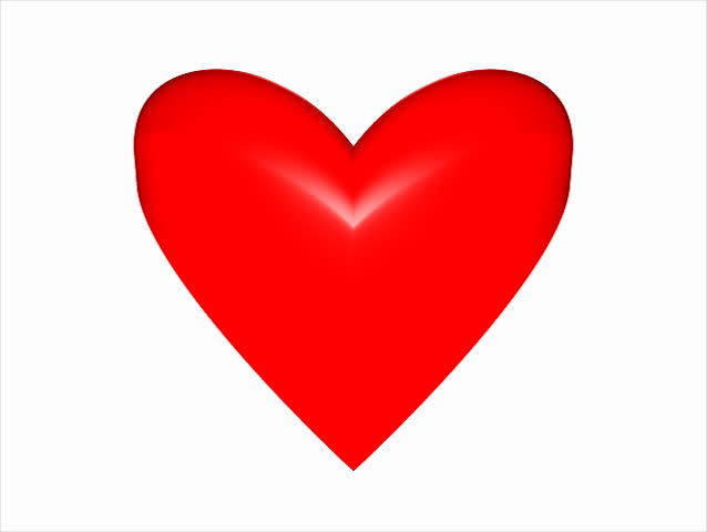 stock video clip of heartbeat animation of red shape heart with rh shutterstock com  beating heart clipart for powerpoint