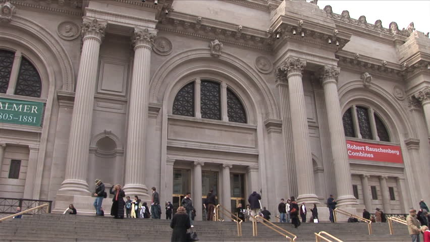New York, NY - CIRCA March 2006: The Metropolitan Museum of Art is a very popular location to visit in Manhattan because it is free and full of amazing art. It is known as the Met to locals
