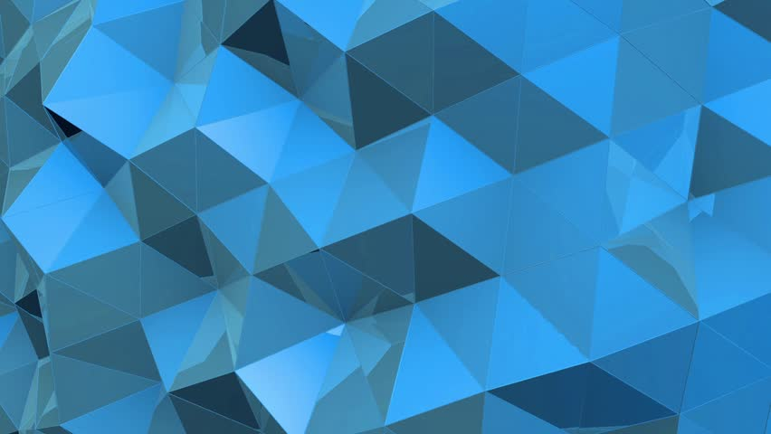 Abstract tech geometric polygonal motion background. Video low poly clip. Digital animation   Shutterstock HD Video #24932420