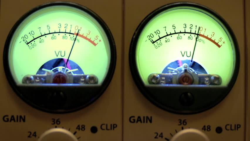 Analog Vu Meter : Analog vu meter stock footage video  shutterstock