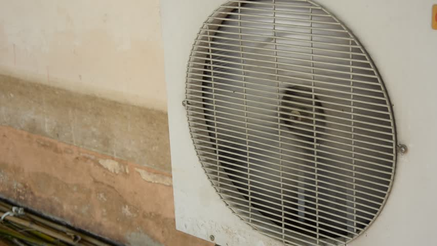 Industrial air-conditioning, fan blades