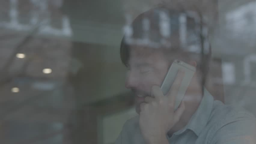 Business Man On Phone Having Coffee #25114151