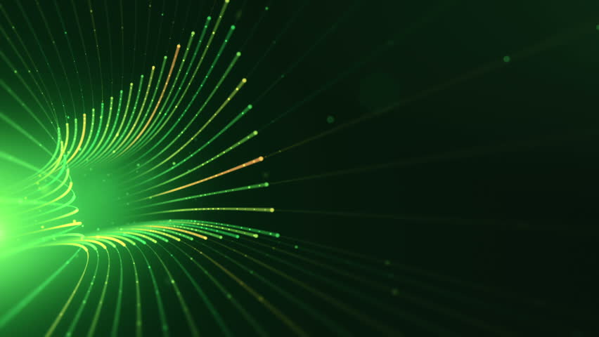 Abstract background with animation moving of lines for fiber optic network. Magic flickering dots or glowing flying lines. Animation of seamless loop. | Shutterstock HD Video #25152326