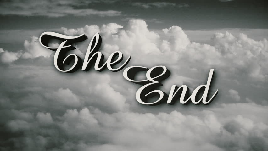 A retro, old-fashioned Wizard of Oz-style The End movie or film end title page. Includes three distressed film options plus normal, clean version.	 | Shutterstock HD Video #25174526