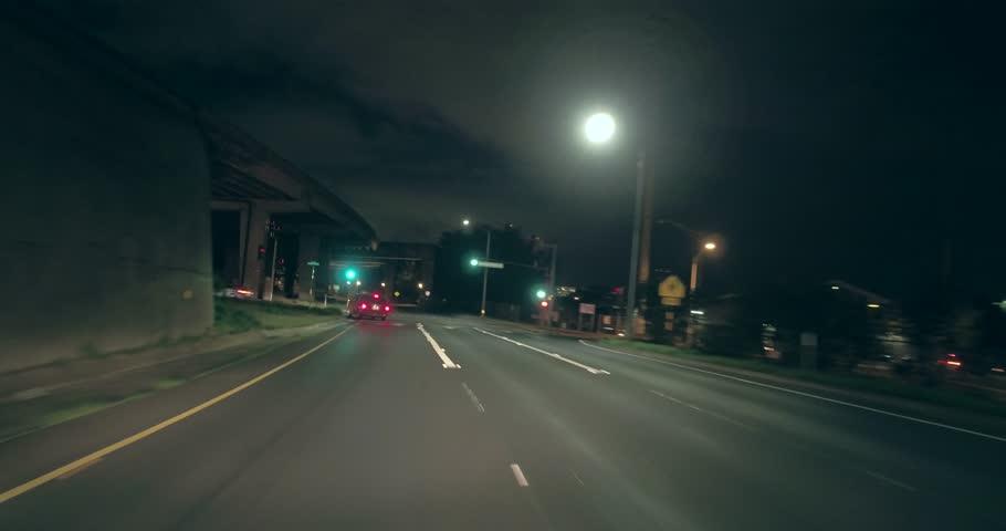 Driving under highway H1 in Honolulu Hawaii | Shutterstock HD Video #25223996