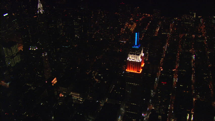 Empire State Building Day & Night 60 United States, New York County-2008 | Shutterstock HD Video #25369946