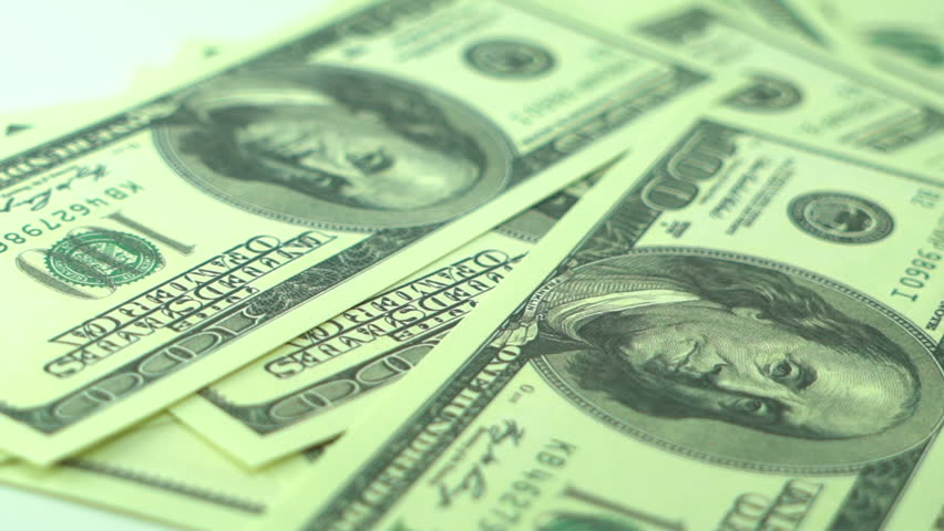 100$ Cash Money US Dollar Bills