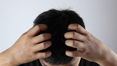 men itching scalp