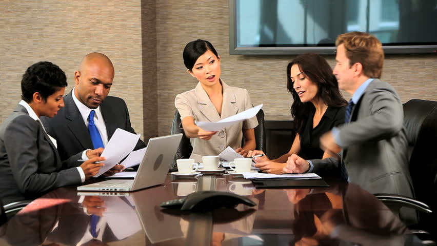 Commercial montage collection smart business people using modern wireless communication to achieve success in careers | Shutterstock HD Video #2539556