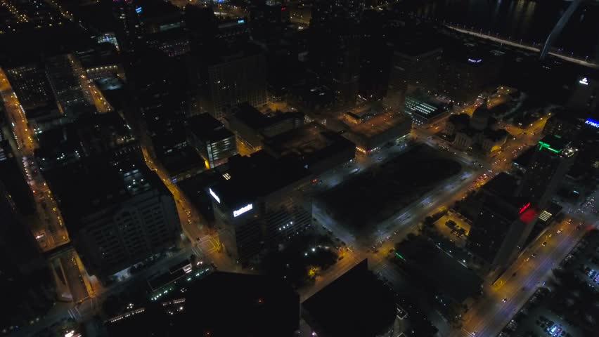 Aerial Missouri St Louis September 2016 4K | Shutterstock HD Video #25439156