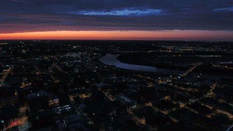 Aerial Missouri Kansas City September 2016 4K