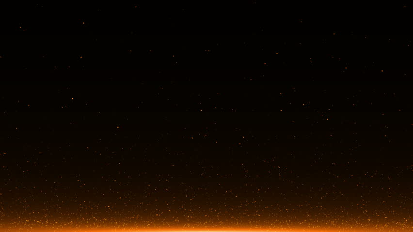 Abstract background with Rising embers. Seamless loop | Shutterstock HD Video #25547066