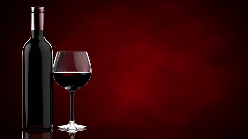 Red Wine Poured In Glass Stock Footage Video 2715938 ...