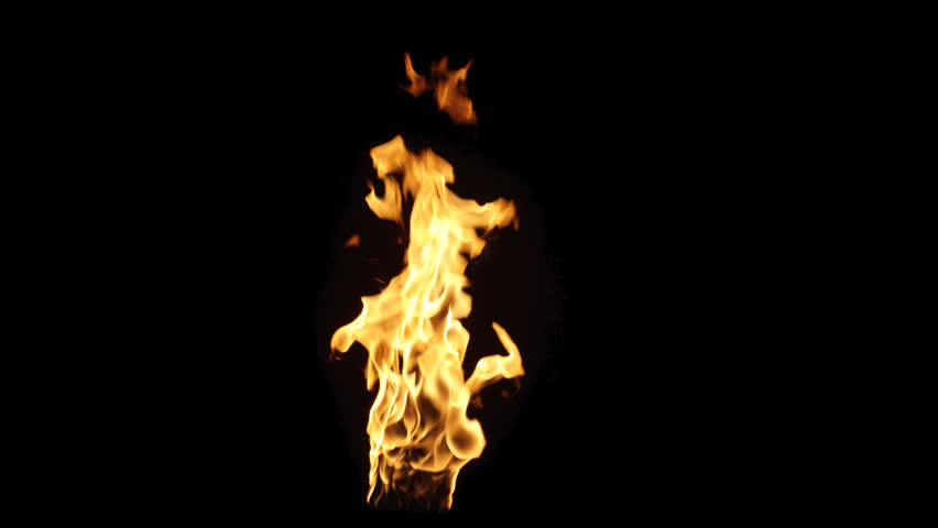 Real fire flame with alpha. Shot on RED in 4K and slow motion. Simple video-integration. Its pre-keyed and edited to retain its color when composited in your video. Version 103 | Shutterstock HD Video #25639826