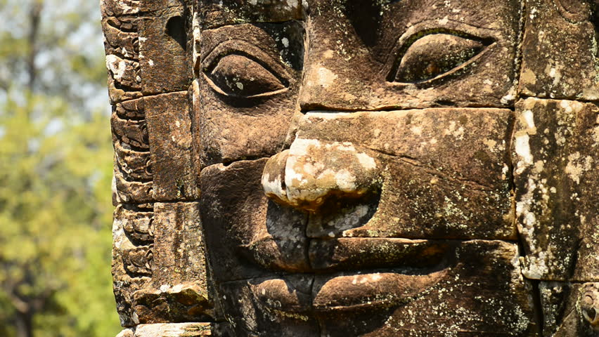 Bayon Temple, Angkor temples, Siem Reap, Cambodia, Indochina, Southeast Asia
