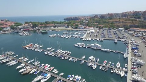 The Black sea town of Sozopol is an ancient seaside town located 35 km south of Burgas on the southern Bulgarian Black Sea Coast.