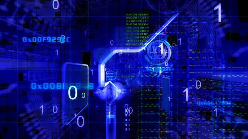 Cyberspace fly | Shutterstock HD Video #260410