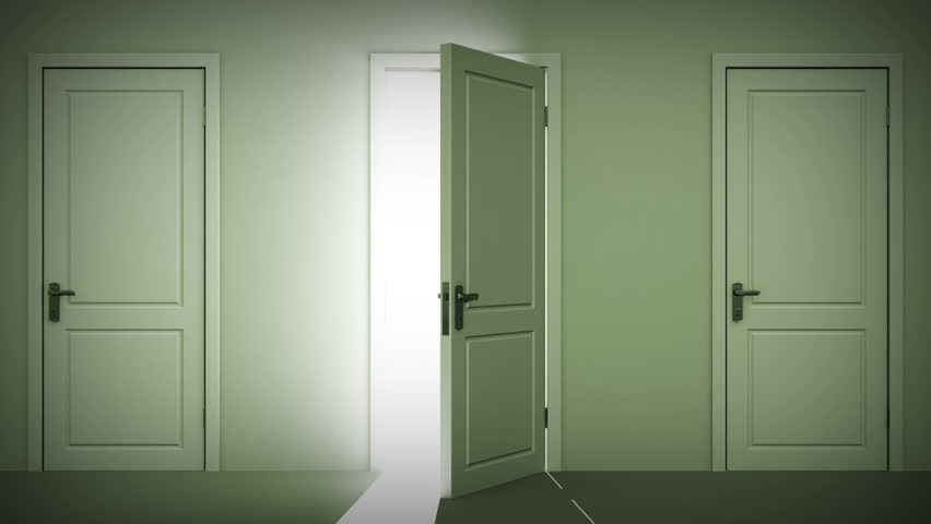 Doors Opening And Closing Looped Animation. Moving In The Hall. Alpha Mask. HD 1080. Stock Footage Video 2611166 | Shutterstock & Doors Opening And Closing Looped Animation. Moving In The Hall ... Pezcame.Com