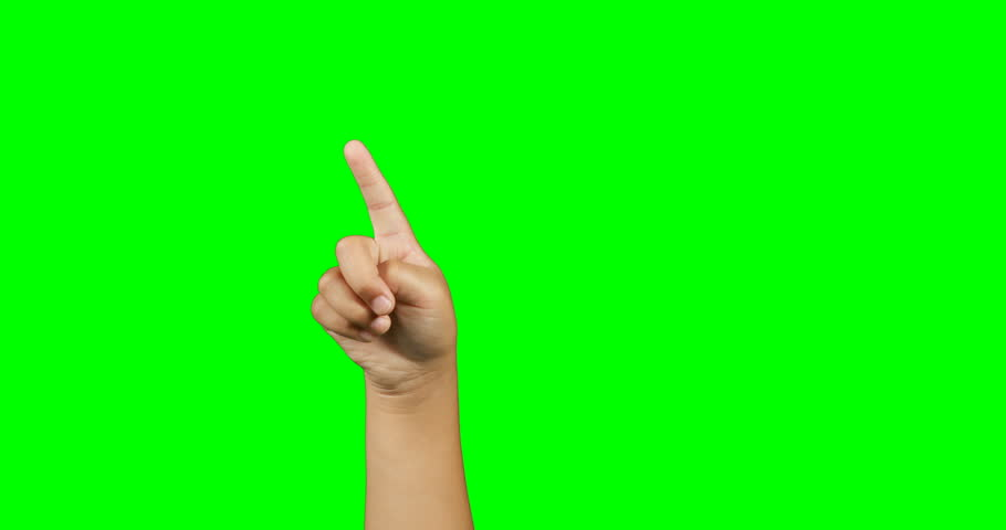 Close-up of kid gesturing against green screen | Shutterstock HD Video #26205626