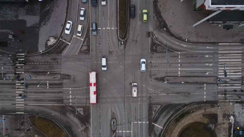 View of the highway road of Tartu Estonia in aerial where cars running on the road & Spaceship Space Station HD Animation. Doors Opening Moving ...