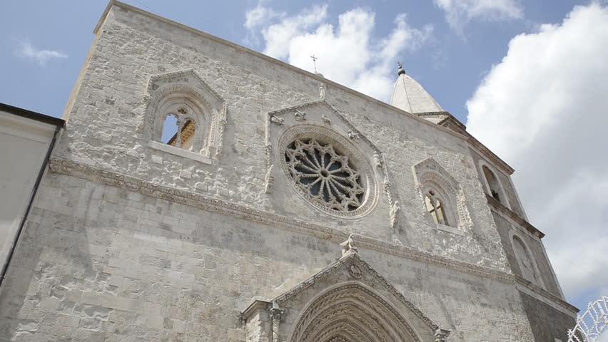 Basilica co-cathedral of Assumption of the Virgin Mary and Saint Pardus in Larino (Italy)  Basilica concattedrale di Santa Maria Assunta e San Pardo (Larino)