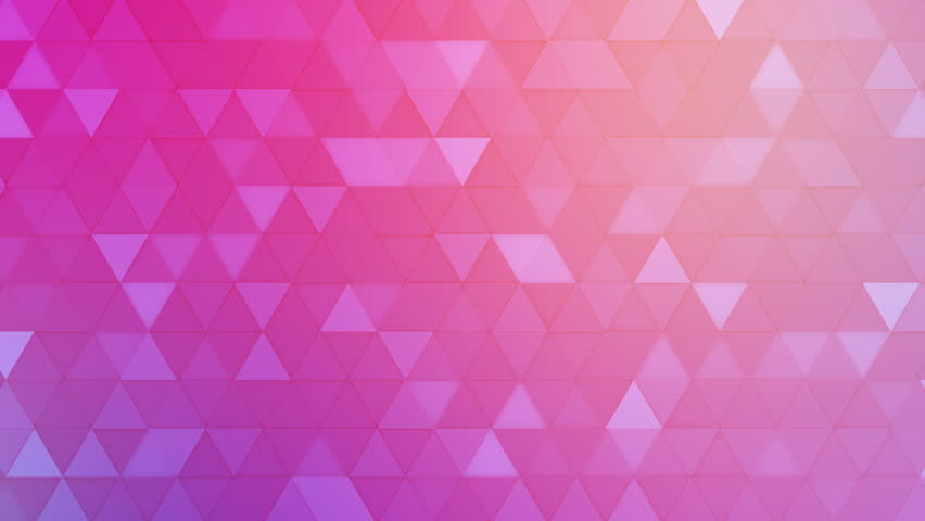 Abstract Triangle Background Random Motion, 3d Loopable Animation 4k | Shutterstock HD Video #26442776