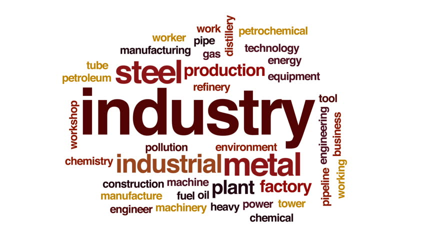 Industry animated word cloud, text design animation. | Shutterstock HD Video #26465126