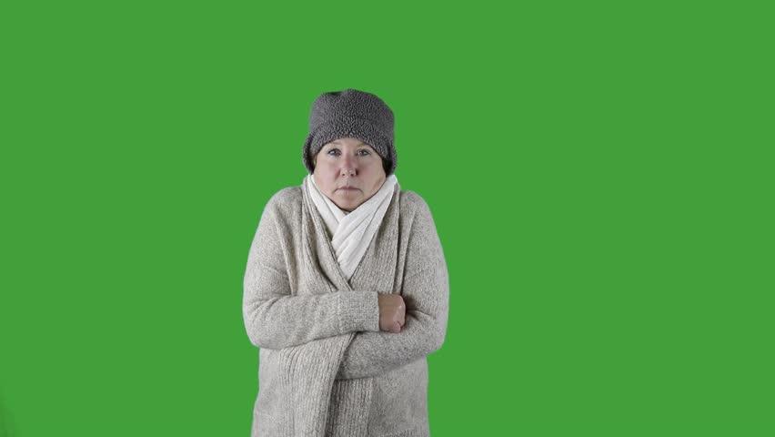 mature woman Sweater