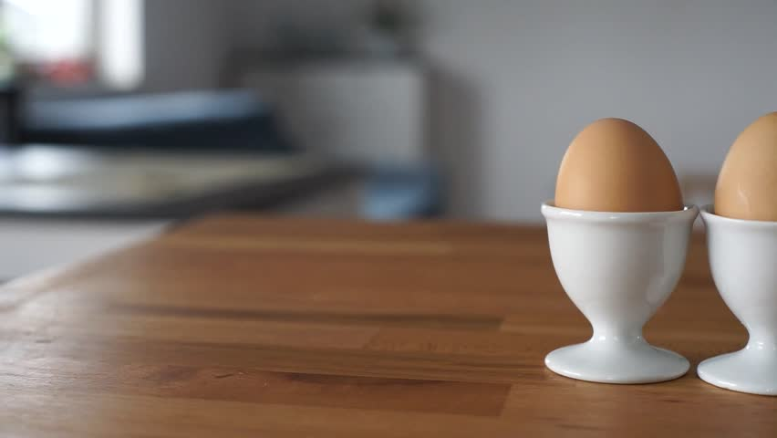 Softly cooked eggs | Shutterstock HD Video #26616326