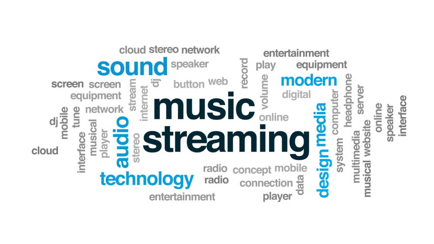 Music Streaming Animated Word Cloud, Stock Footage Video (100%  Royalty-free) 26646136 | Shutterstock