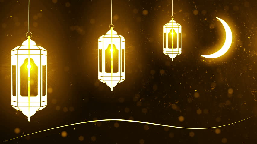 ramadan (ramazan) mubarak candle 4K