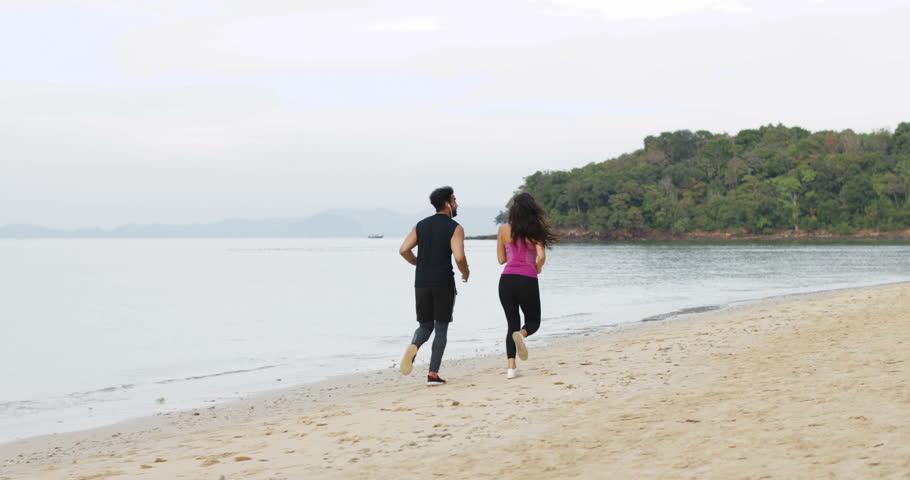Thailand, Koh Samui, 25032015 - Same-Sex Female Family With Child Walking On Beach -8882