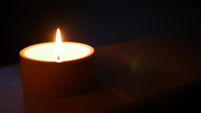Close-up of a candle in the dark. Shallow depth of field with focus & Close-up Of A Match Lighting A Candle Against A Wall Background ... azcodes.com