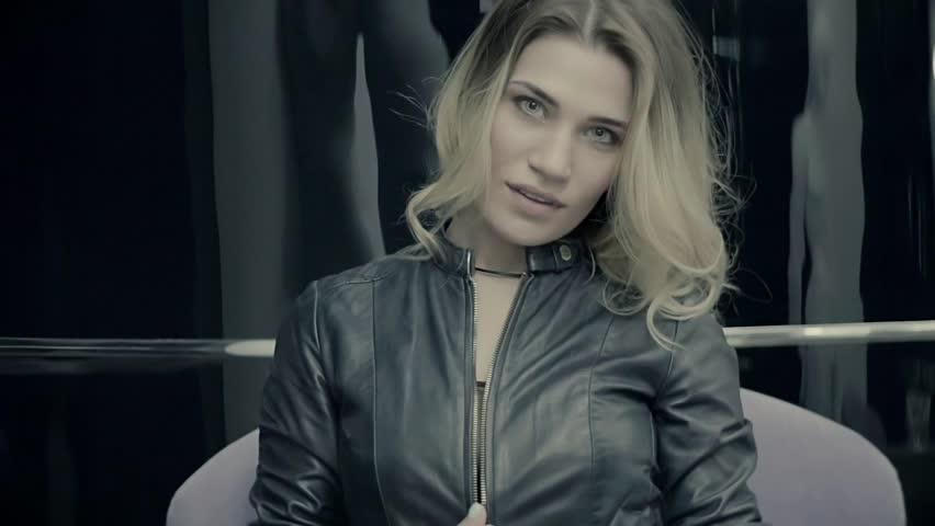 Slow Motion Blonde Sexy Woman  | Shutterstock HD Video #26951746