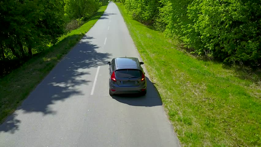Car riding on the road | Shutterstock HD Video #26956006