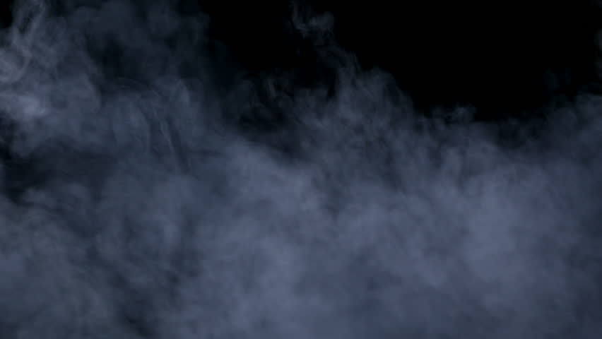 Smoke billowing over a black background. | Shutterstock HD Video #27025216