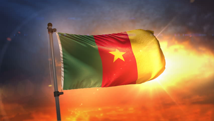 Cameroon Flag Animation