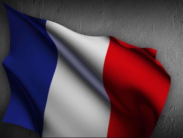 France Flag flutter in the wind. | Shutterstock HD Video #27144